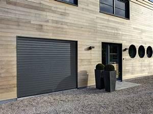 Porte De Garage Gris Anthracite : portes de garage sur mesure sous haute surveillance leroy merlin ~ Melissatoandfro.com Idées de Décoration