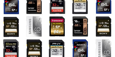 Fastest Memory Cards With High
