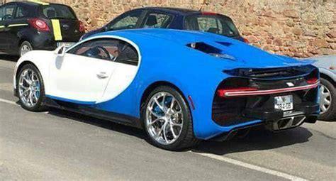 Bugatti Chiron Spec by Us Spec Bugatti Chiron Out In The Open