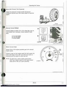 Used John Deere 6200  6200l  6300 6300l  6400  6400l And 6500l Tractors Operators Manual