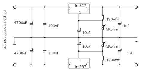 costruzione di un alimentatore duale regolabile in tensione pag 3 il forum di electroyou