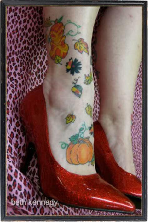 debs feet autumn theme