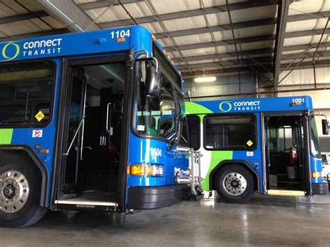 Connect Transit Buses Rolling Into 2017 | WGLT