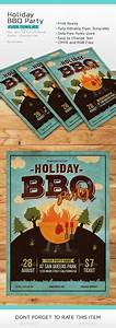 Family Cookout Event Flyer Poster Template