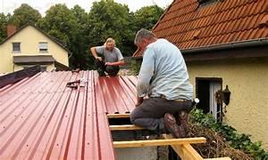 Dach Trapezblech Verlegung : trapezblechdach verlegen metallschneidemaschine ~ Whattoseeinmadrid.com Haus und Dekorationen