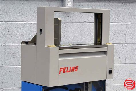 felins ats ms  micro processor controlled  mm banding machine  boggs equipment