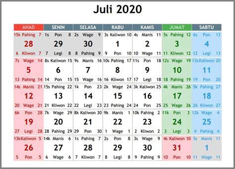 kalender  indonesia lengkap tanggal merah  cuti bersama peraturan  surat
