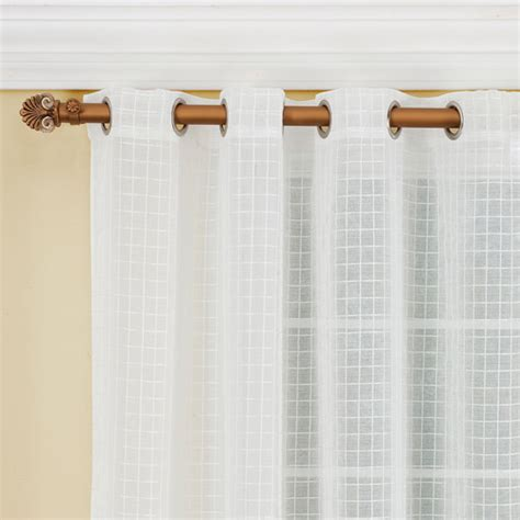 Walmart Sheer Grommet Curtains by Montauk Sheer Drapery Panel Walmart