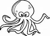 Octopus Coloring Clipart Colorir Polvo Drawing Imprimir Wecoloringpage Desenhos Polvos Druku Clipartmag Kolorowanka Clip Colouring Printable Rybki Kolorowe Animais Drawings sketch template