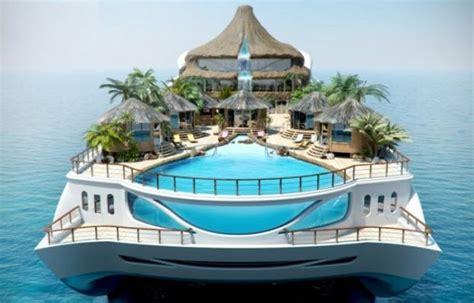 Fantastic Tropical Island Paradise Superyacht