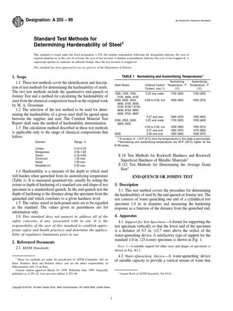 Norma Astm a255 | Steel | Metals