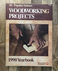 woodworking projects  popular science paperback
