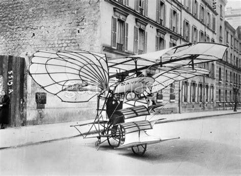 french inventor alois santa   bicycle aeroplane