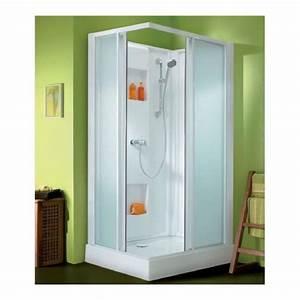 Cabine De Douche Rectangulaire : leda cabine de douche rectangulaire portes coulissantes ~ Melissatoandfro.com Idées de Décoration
