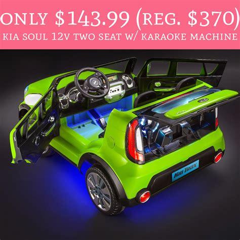 Only $143.99 (Regular $370) Kia Soul 12V Two Seat w