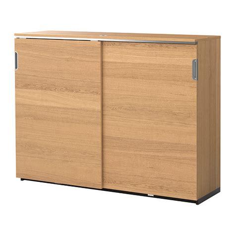 galant cabinet with doors galant cabinet with sliding doors oak veneer 160x120 cm ikea