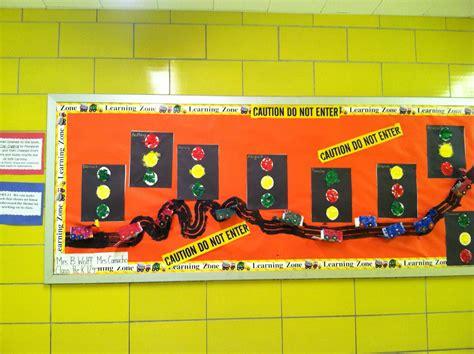 construction theme bulletin board educational