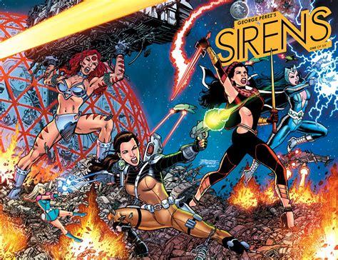 george perez sirens comic  boom studios  escapist