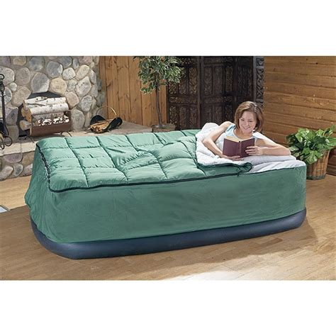 sleeping bag with air mattress guide gear air bed fitted cover sleeping bag
