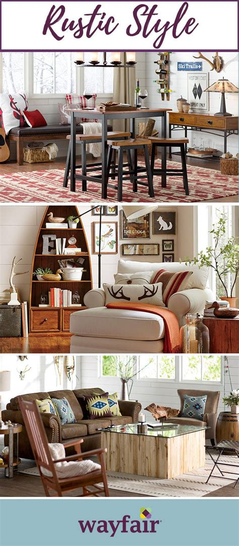 rustic home style from wayfair keep it cozy rustic decor