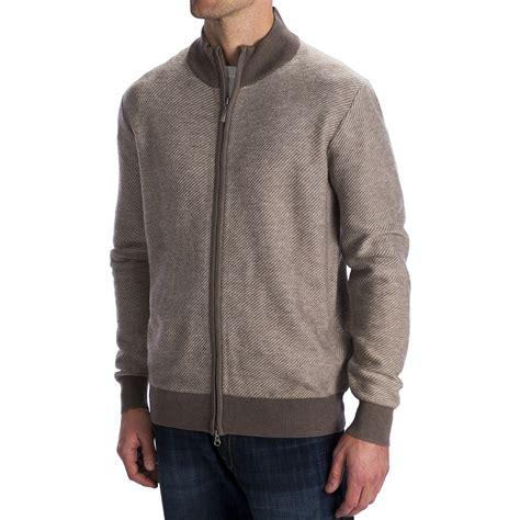 zip front sweater toscano diagonal weave cardigan sweater merino wool zip