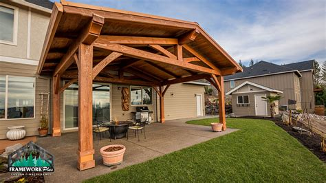 outdoor living pavilion in happy valley or framework plus