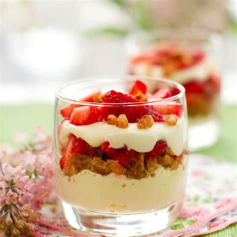 recettes fraises mascarpone speculoos