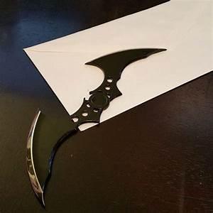 23 best dc comics images on pinterest business cards With batman batarang letter opener