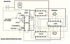 Cell Phone Controlled Land Rover Using Logic Gates Circuit