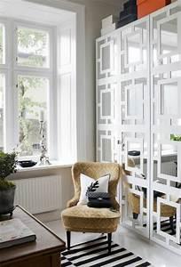 le miroir decoratif en 50 photos magnifiques With salle de bain design avec cadres décoratifs pour salon
