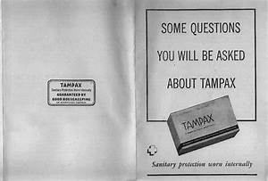 What Tampax Dealers Told Customers  1936  At The Museum Of