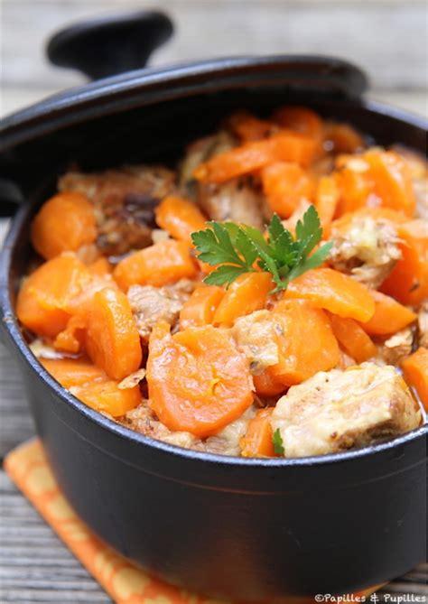 saut 233 de veau aux carottes au miel et au citron confit