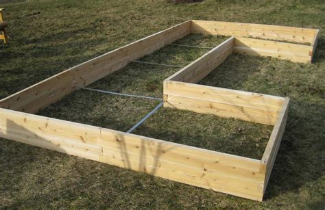 window boxes  raised garden beds   cedar