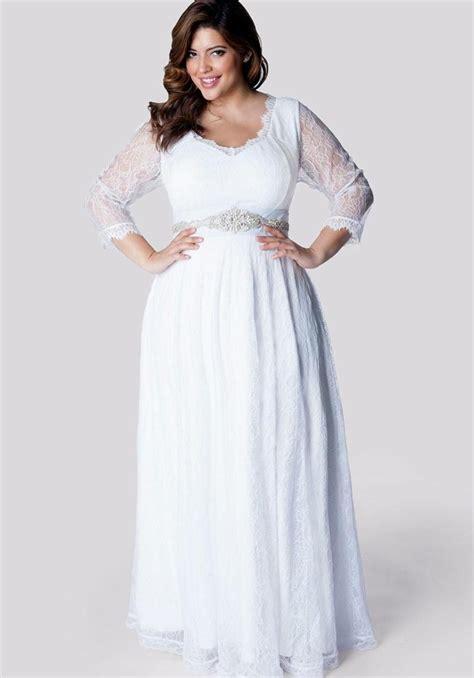 Plus size long chiffon dresses   PlusLook.eu Collection