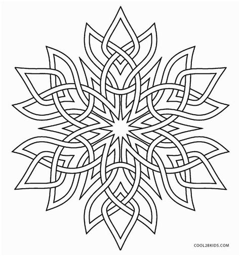 Snowflake Coloring Page Printable Snowflake Coloring Pages For Cool2bkids