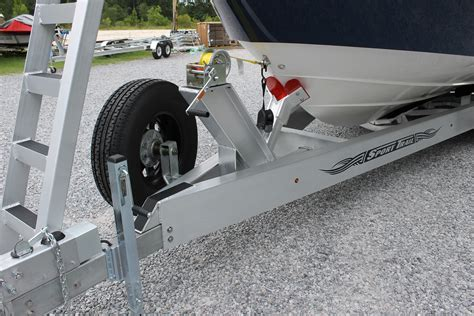 Boat Trailer Tire Mount by Spare Tire Mount On An I Beam Trailer The Hull