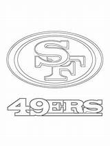 49ers Coloring Francisco San Pages Nfl Stencil Printable Stencils Football Drawing Sports Logos Supercoloring Sheets Helmet Clipart Team Cake Templates sketch template