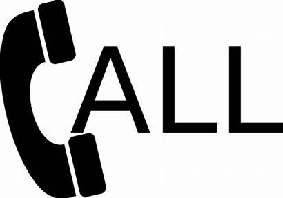 Call Clipart Phone Clip Calls Vector Cliparts