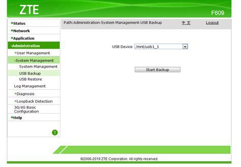 Bagi anda yang sudah berhasil mengetahui user dan password dari telnet seperti yang sebelumnya sudah dijelaskna, maka selanjutkan adalah mengganti password. F609 Login Admin : Panduan Back Up Login Admin - Modem ZTE F609