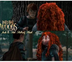 INTO THE WOODS (AU) - Jack And Red Riding Hood by ...