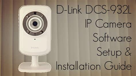 link dcs  ip camera software setup installation