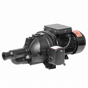 Deep Well Convertible Jet Pump  Where To Install Ejector
