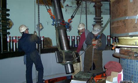 Helms Pump Turbine Rebuild
