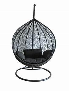 Rattan Swing Chair Outdoor Garden Patio Hanging Wicker ...