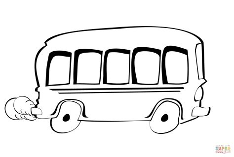 Kleurplaat Autobus by Tekening Kleurplaat Gratis Kleurplaten Printen