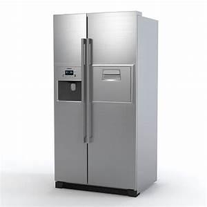 Siemens Side By Side : 3dsmax siemens refrigerator ~ Frokenaadalensverden.com Haus und Dekorationen
