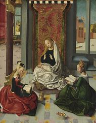 Old Masters Painting Virgin Mary