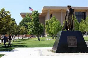 The Matador Statue is located across from the Matador ...