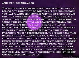 How Do I Find My Astrology Chart Aries Sun Scorpio Moon This Is In My Birth Chart