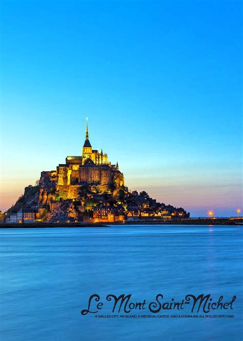 the stunning walled city of le mont michel a must see in i am aileen